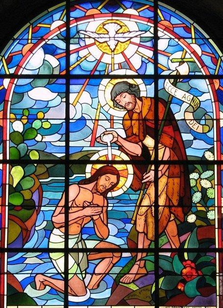 Bapteme jesus