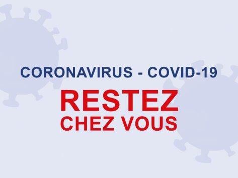 Coronavirus restez chez vous 1