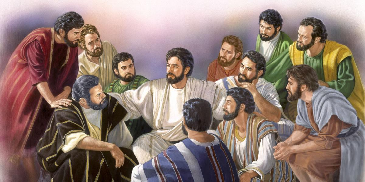 Jésus et ses 12 apôtres
