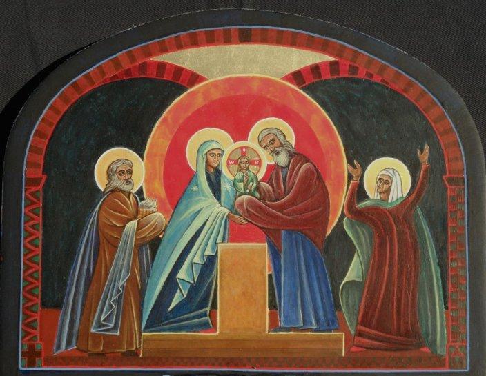 Presentation de jesus au temple